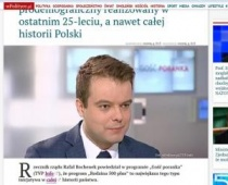 Rzecznik Rządu Rafał Bochenek w TVP INFO - żółta kartka od MATKI POLKI